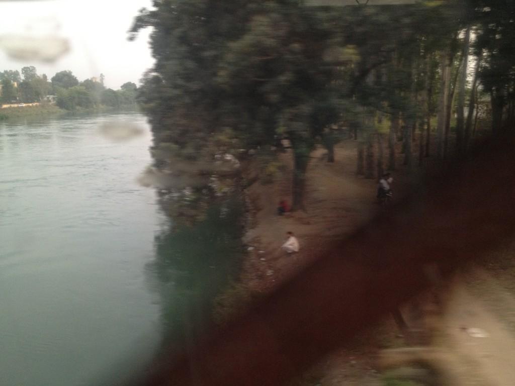 On the Delhi train